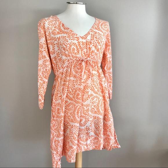 6ad54f92828 Gretchen Scott Dresses   Skirts - Gretchen Scott orange tulip vine cotton  dress